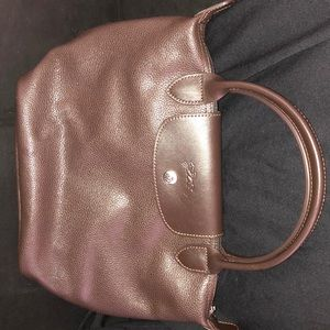 Brown Longchamp purse